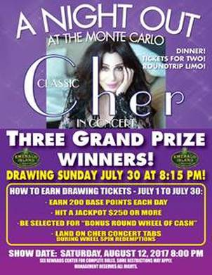 Cher- Emerald Island Casino