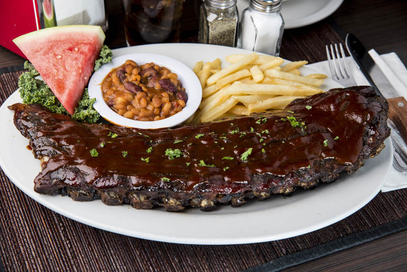 Ribs at Emerald Island
