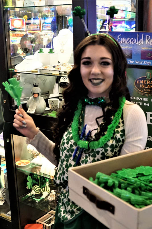 St. Patrick's Day 2019 at Emerald Island Casino