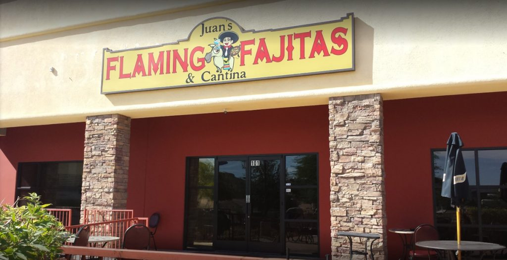 The Exterior of Flaming Fajitas