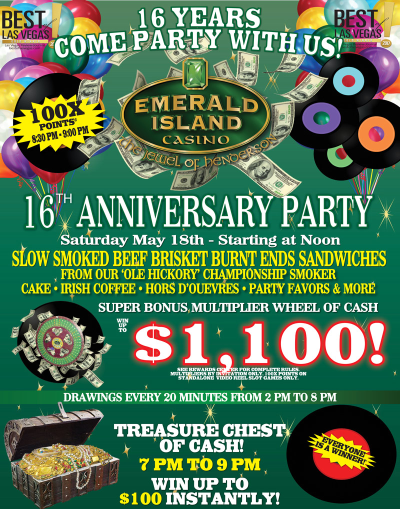 16th Anniversary Party Signboard- May2019