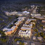 Image of how The Water Street District in Downtown Henderson will be after redevelopment