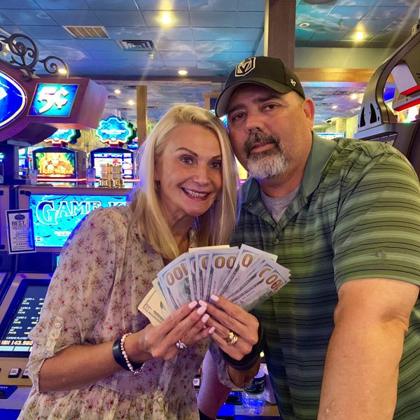 Stephanie and Kenneth Keno 7/7 winners - $1435
