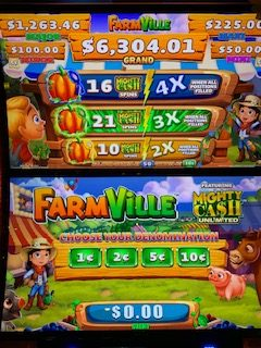 Farmville slot machine game