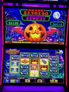 Jack's Haunted Wins slot machine game