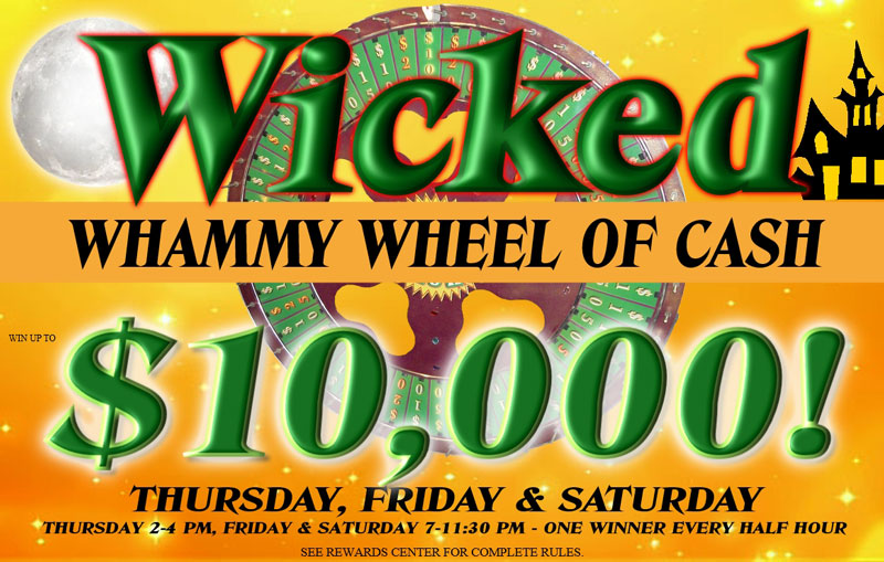 Wicked Whammy Wheel of Cash - October