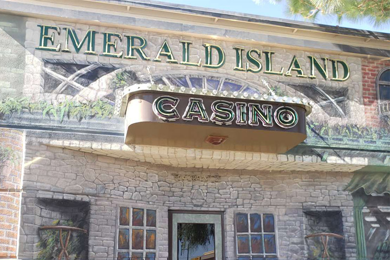 The front of Emerald Island Casino