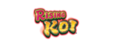 Rising Koi Slot Machine logo
