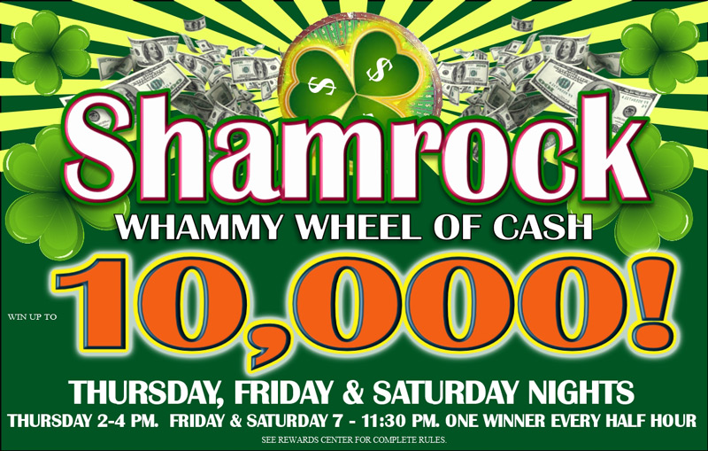 Shamrock Whammy Wheel of Cash 2020