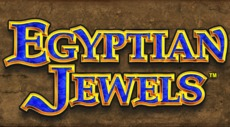 Egyptian Jewel slot machine game logo