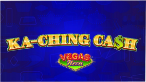 Vegas Neon slot machine game logo