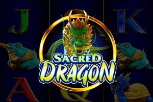 Sacred Dragon slot machine game logo