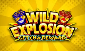 Wild Explosion GetCha Reward slot machine game logo