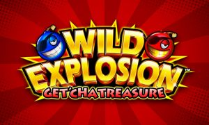 Wild Explosion GetCha Treasure slot machine game logo